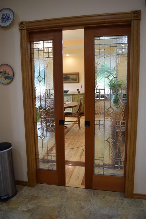 Beautiful Pocket Doors leading into the GORGEOUS Dining Room!