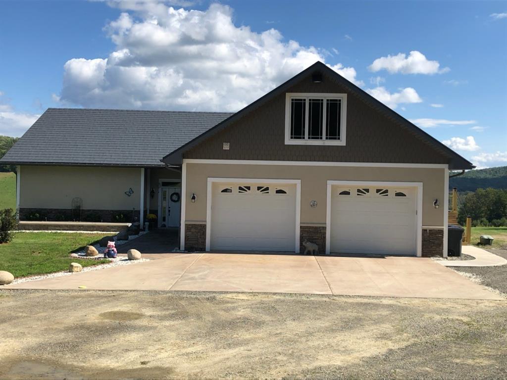2 Car oversized garages,