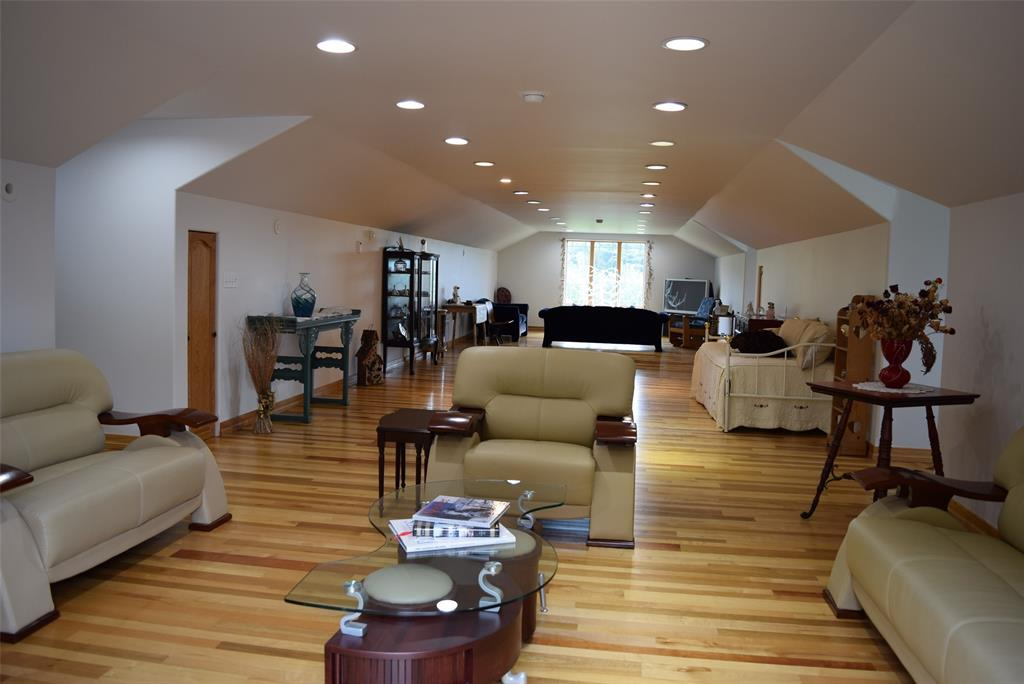 16x59 Great Room upstairs! Space galore!